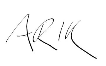Arik Korman Signature